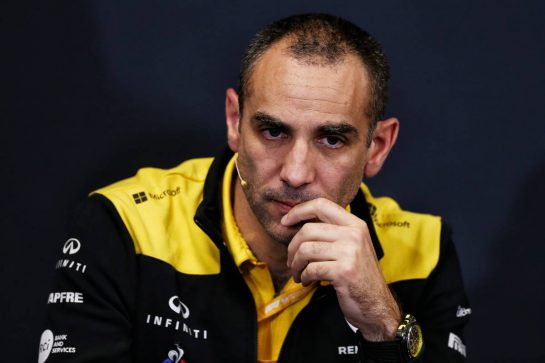 Cyril Abiteboul (FRA) Renault Sport F1 Managing Director in the FIA Press Conference. 23.05.2019. Formula 1 World Championship, Rd 6, Monaco Grand Prix, Monte Carlo, Monaco, Practice Day. - www.xpbimages.com, EMail: requests@xpbimages.com - copy of publication required for printed pictures. Every used picture is fee-liable. © Copyright: Moy / XPB Images