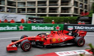 Leclerc springs to the top in FP3 as Vettel hits the wall!