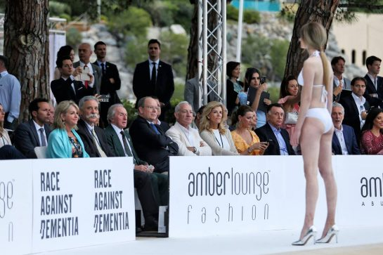 The Amber Lounge Fashion Show.