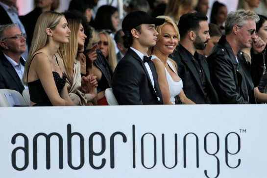 Pamela Anderson (USA) at the Amber Lounge Fashion Show. 24.05.2019. Formula 1 World Championship, Rd 6, Monaco Grand Prix, Monte Carlo, Monaco, Friday. - www.xpbimages.com, EMail: requests@xpbimages.com - copy of publication required for printed pictures. Every used picture is fee-liable. © Copyright: Moy / XPB Images