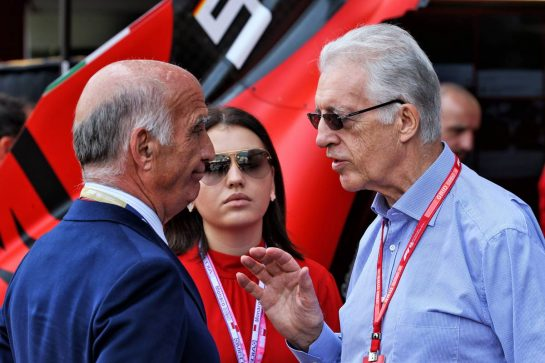 (L to R): Dr. Angelo Sticchi Damiani (ITA) Aci Csai President with Piero Ferrari (ITA) Ferrari Vice-President.