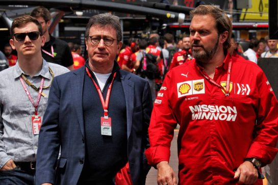 Louis Camilleri (ITA) Ferrari Chief Executive Officer with Gino Rosato (CDN) Ferrari. - www.xpbimages.com, EMail: requests@xpbimages.com - copy of publication required for printed pictures. Every used picture is fee-liable. © Copyright: Photo4 / XPB Images