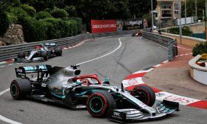 Desperate Hamilton hangs on for Monaco GP win