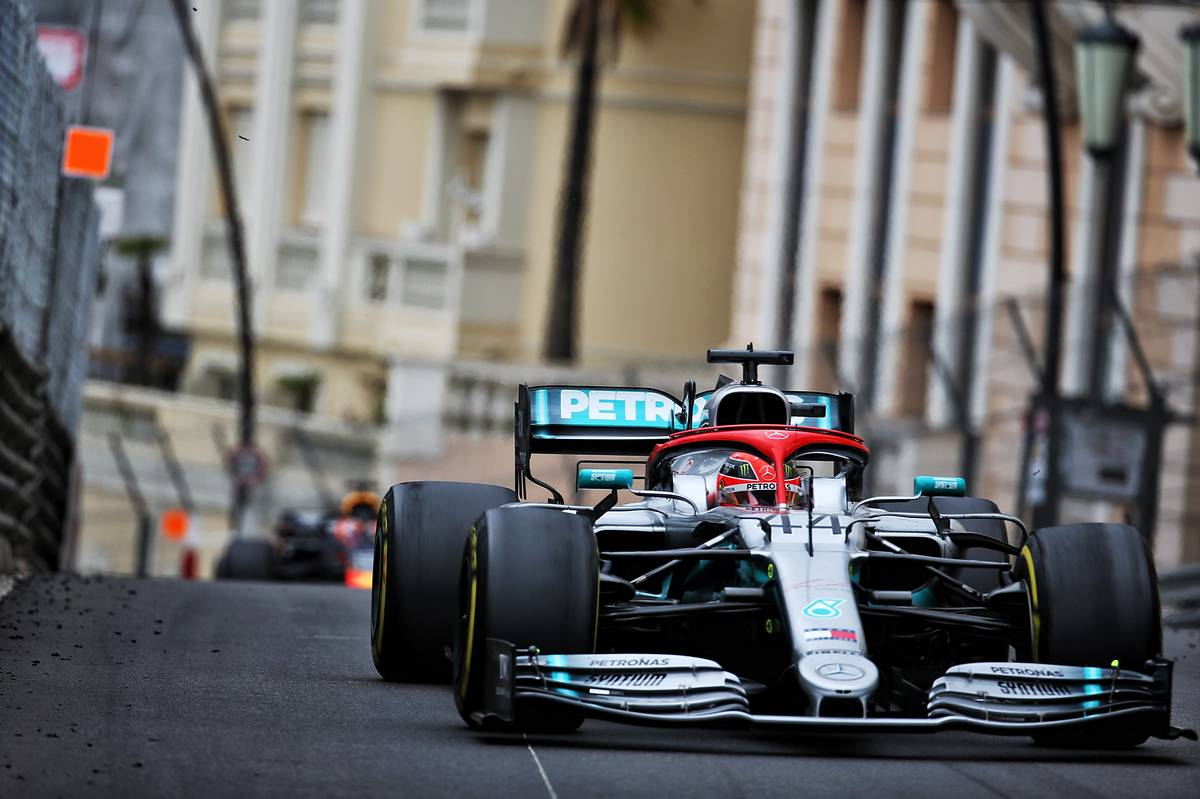 Lewis Hamilton (GBR) Mercedes AMG F1 W10. 26.05.2019.