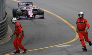 Perez: 'I nearly ran over two marshals!'