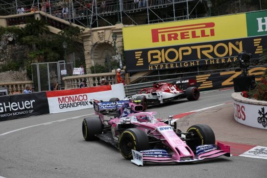 Lance Stroll (CDN) Racing Point F1 Team RP19.
