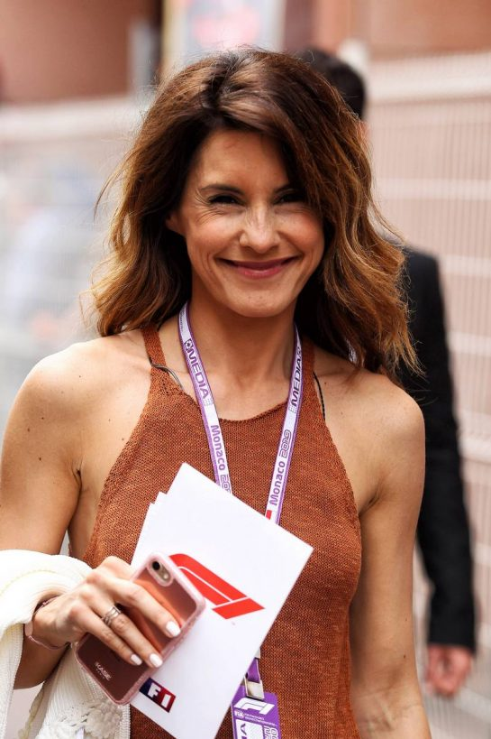 Marion Jolles Grosjean (FRA) TF1 TV Presenter.