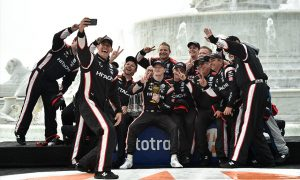 Penske boys double down in Detroit