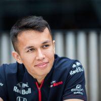 Alex Albon Toro Rosso F1 Driver