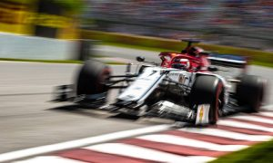 Raikkonen banking on upgrades to revive Alfa's pace