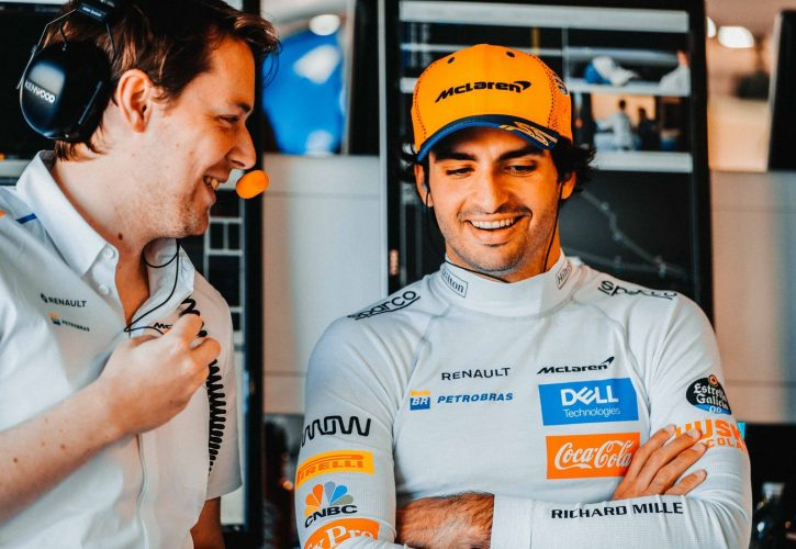 Updates and 'experiments' leave Sainz with best Friday of 2019