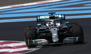 Hamilton says gusty Q3 conditions helped secure pole