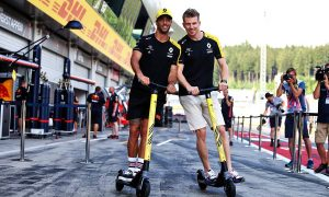 Hulkenberg unhappy with qualifying record against Ricciardo