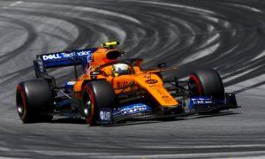 McLaren awarded P5 start but prepping for grueling race