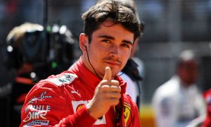 Bianchi tragedy never incited Leclerc to stop racing