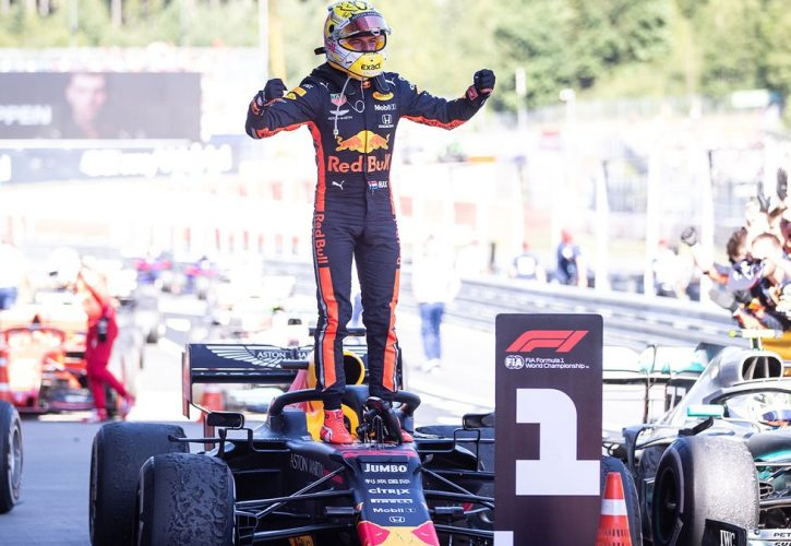 Red Bull's Verstappen confirmed as Austrian GP victor