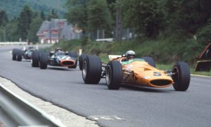 Bruce puts win #1 on McLaren's books