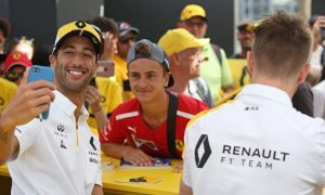 Ricciardo spares a thought for the fans when the action is boring