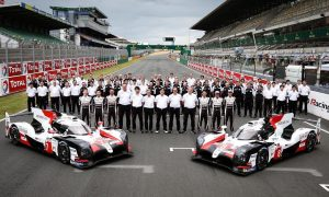 Titanic Toyota squad ready to roll