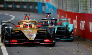 Vergne holds off Evans to win chaotic Swiss E-Prix