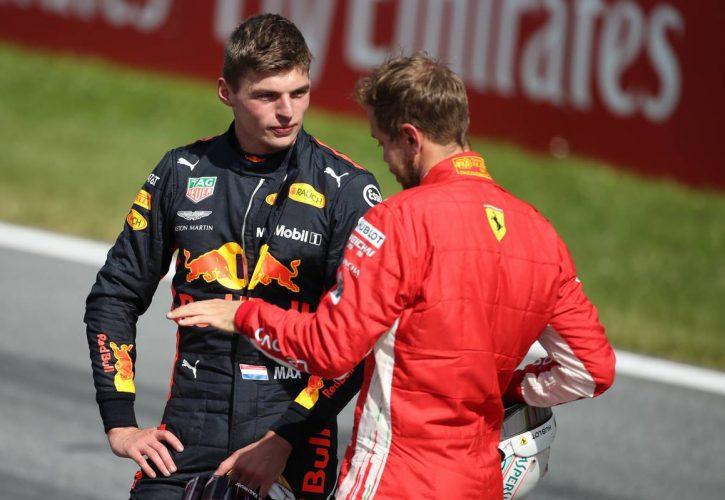 Vettel Verstappen