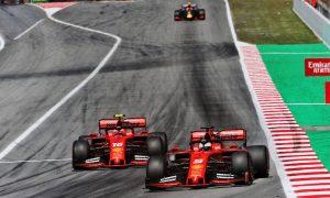 Vettel insists Leclerc challenge is good for Ferrari