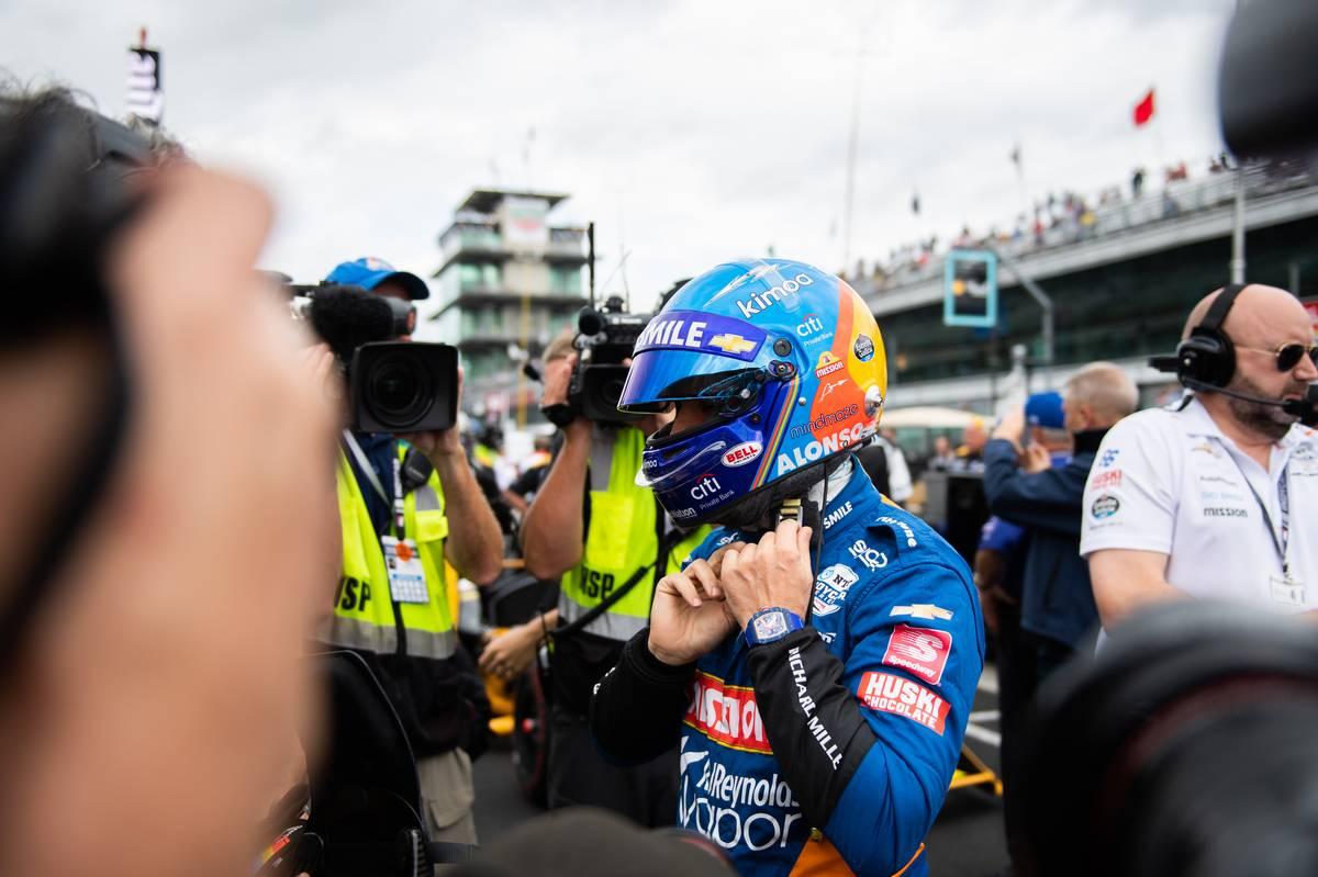 Fernando Alonso, McLaren Racing. 19.05.2019.