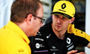 Hulkenberg confident Renault can sustain its momentum in France