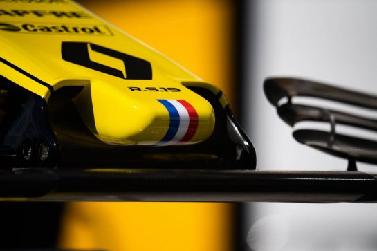 Renault F1 Team RS19 nosecone.