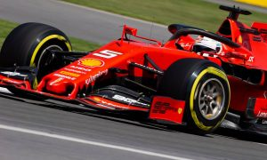 Ferrari keeps ahead in final practice with Vettel in command