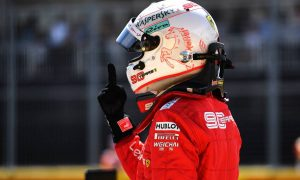 Vettel 'full of adrenaline' after cracking pole in Canada