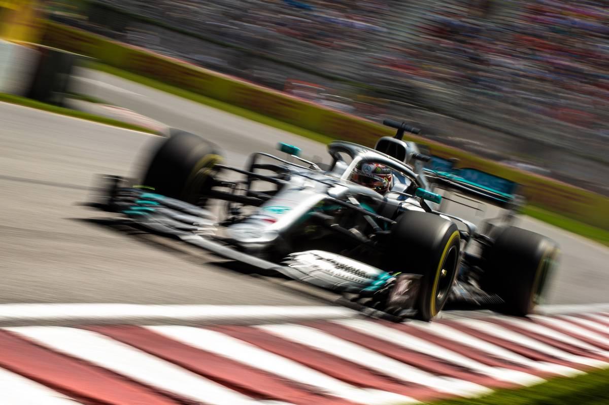 Lewis Hamilton (GBR) Mercedes AMG F1 W10. 08.06.2019.