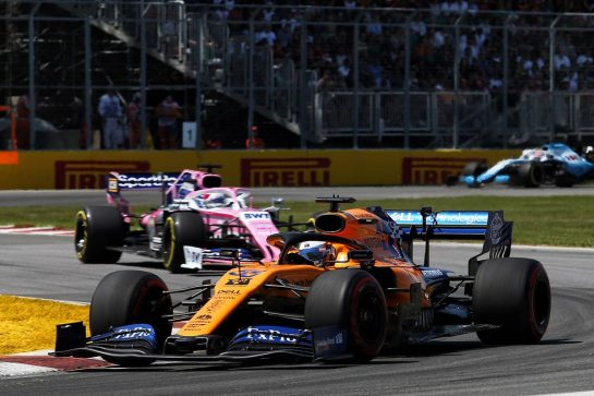 Carlos Sainz Jr (ESP) McLaren MCL34. 09.06.2019. Formula 1 World Championship, Rd 7, Canadian Grand Prix, Montreal, Canada, Race Day. - www.xpbimages.com, EMail: requests@xpbimages.com - copy of publication required for printed pictures. Every used picture is fee-liable. © Copyright: Charniaux / XPB Images