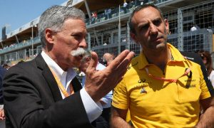 Carey warns F1 is not in 'the business of handouts'
