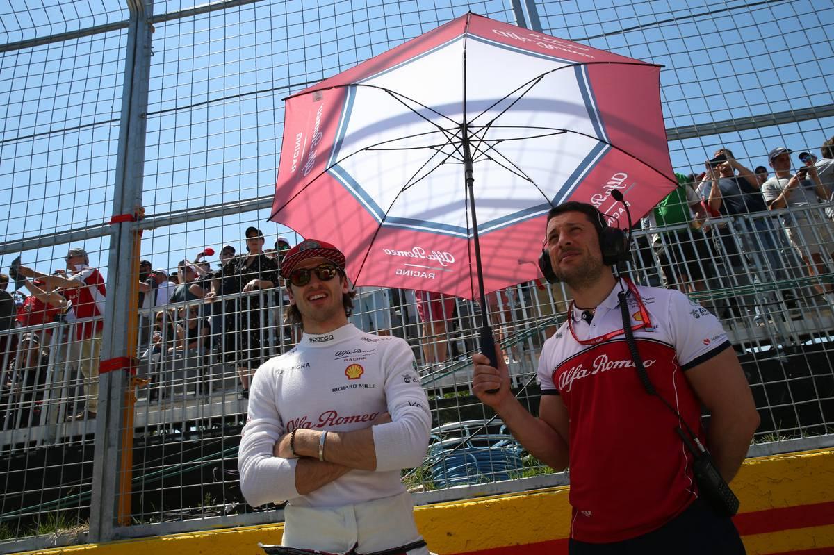 Antonio Giovinazzi (ITA) Alfa Romeo Racing.