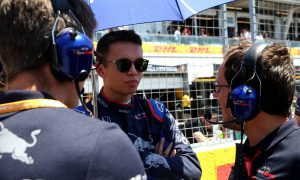 Albon gradually adjusting to life in 'F1 circus'