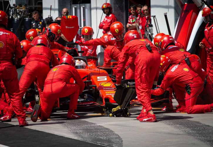 Ferrari confirms request to review Vettel penalty