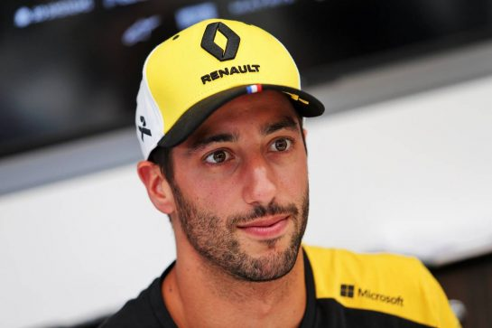 Daniel Ricciardo (AUS) Renault F1 Team.