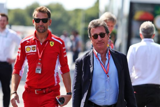 Louis Camilleri (ITA) Ferrari Chief Executive Officer.