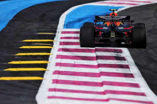 Pierre Gasly (FRA) Red Bull Racing RB15. 21.06.2019. Formula 1 World Championship, Rd 8, French Grand Prix, Paul Ricard, France, Practice Day. - www.xpbimages.com, EMail: requests@xpbimages.com - copy of publication required for printed pictures. Every used picture is fee-liable. © Copyright: Moy / XPB Images