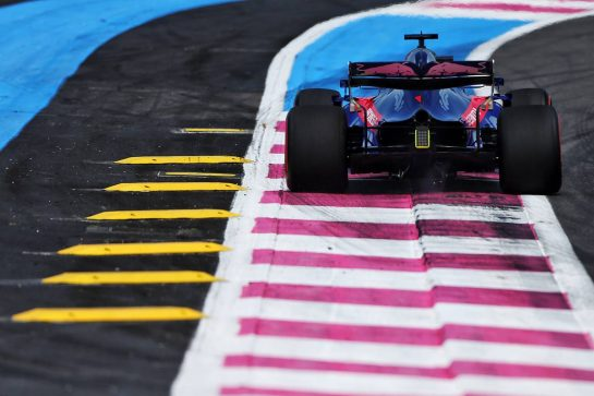 Daniil Kvyat (RUS) Scuderia Toro Rosso STR14. 21.06.2019. Formula 1 World Championship, Rd 8, French Grand Prix, Paul Ricard, France, Practice Day. - www.xpbimages.com, EMail: requests@xpbimages.com - copy of publication required for printed pictures. Every used picture is fee-liable. © Copyright: Moy / XPB Images
