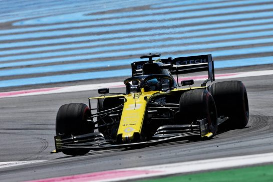 Daniel Ricciardo (AUS) Renault F1 Team RS19. 21.06.2019. Formula 1 World Championship, Rd 8, French Grand Prix, Paul Ricard, France, Practice Day. - www.xpbimages.com, EMail: requests@xpbimages.com - copy of publication required for printed pictures. Every used picture is fee-liable. © Copyright: Moy / XPB Images