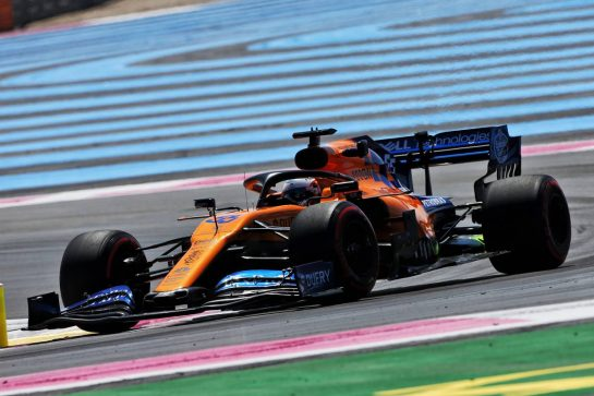 Carlos Sainz Jr (ESP) McLaren MCL34. 21.06.2019. Formula 1 World Championship, Rd 8, French Grand Prix, Paul Ricard, France, Practice Day. - www.xpbimages.com, EMail: requests@xpbimages.com - copy of publication required for printed pictures. Every used picture is fee-liable. © Copyright: Moy / XPB Images