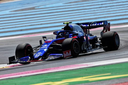 Alexander Albon (THA) Scuderia Toro Rosso STR14. 21.06.2019. Formula 1 World Championship, Rd 8, French Grand Prix, Paul Ricard, France, Practice Day. - www.xpbimages.com, EMail: requests@xpbimages.com - copy of publication required for printed pictures. Every used picture is fee-liable. © Copyright: Moy / XPB Images