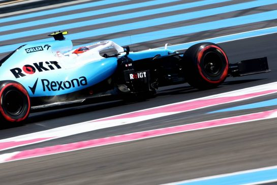 Robert Kubica (POL), Williams F1 Team 21.06.2019. Formula 1 World Championship, Rd 8, French Grand Prix, Paul Ricard, France, Practice Day.- www.xpbimages.com, EMail: requests@xpbimages.com - copy of publication required for printed pictures. Every used picture is fee-liable. © Copyright: Charniaux / XPB Images
