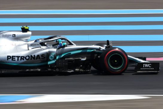 Valtteri Bottas (FIN), Mercedes AMG F1 21.06.2019. Formula 1 World Championship, Rd 8, French Grand Prix, Paul Ricard, France, Practice Day.- www.xpbimages.com, EMail: requests@xpbimages.com - copy of publication required for printed pictures. Every used picture is fee-liable. © Copyright: Charniaux / XPB Images