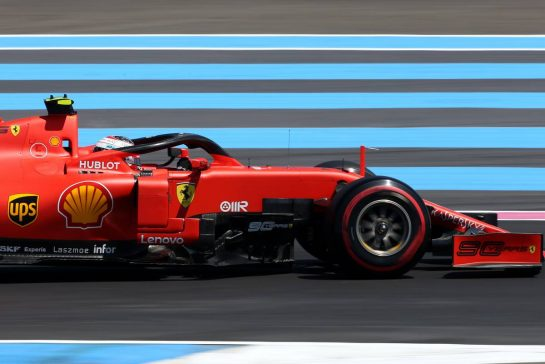 Charles Leclerc (FRA), Scuderia Ferrari 21.06.2019. Formula 1 World Championship, Rd 8, French Grand Prix, Paul Ricard, France, Practice Day.- www.xpbimages.com, EMail: requests@xpbimages.com - copy of publication required for printed pictures. Every used picture is fee-liable. © Copyright: Charniaux / XPB Images
