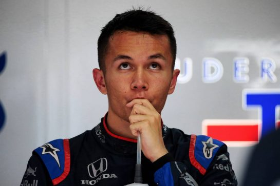 Alexander Albon (THA) Scuderia Toro Rosso. 21.06.2019. Formula 1 World Championship, Rd 8, French Grand Prix, Paul Ricard, France, Practice Day. - www.xpbimages.com, EMail: requests@xpbimages.com - copy of publication required for printed pictures. Every used picture is fee-liable. © Copyright: Photo4 / XPB Images
