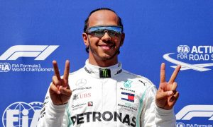 Hamilton leads Mercedes front row sweep as Vettel falters