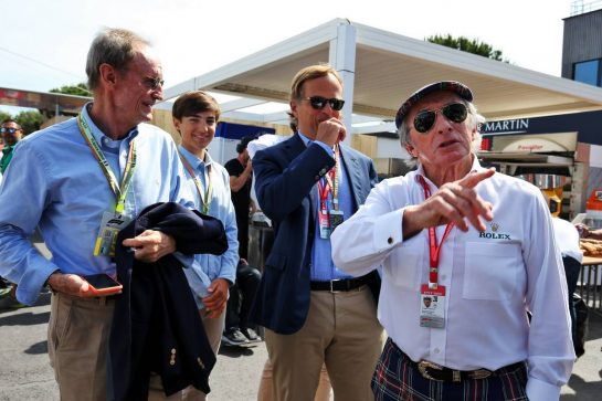Jackie Stewart (GBR). 23.06.2019. Formula 1 World Championship, Rd 8, French Grand Prix, Paul Ricard, France, Race Day. - www.xpbimages.com, EMail: requests@xpbimages.com - copy of publication required for printed pictures. Every used picture is fee-liable. © Copyright: Moy / XPB Images